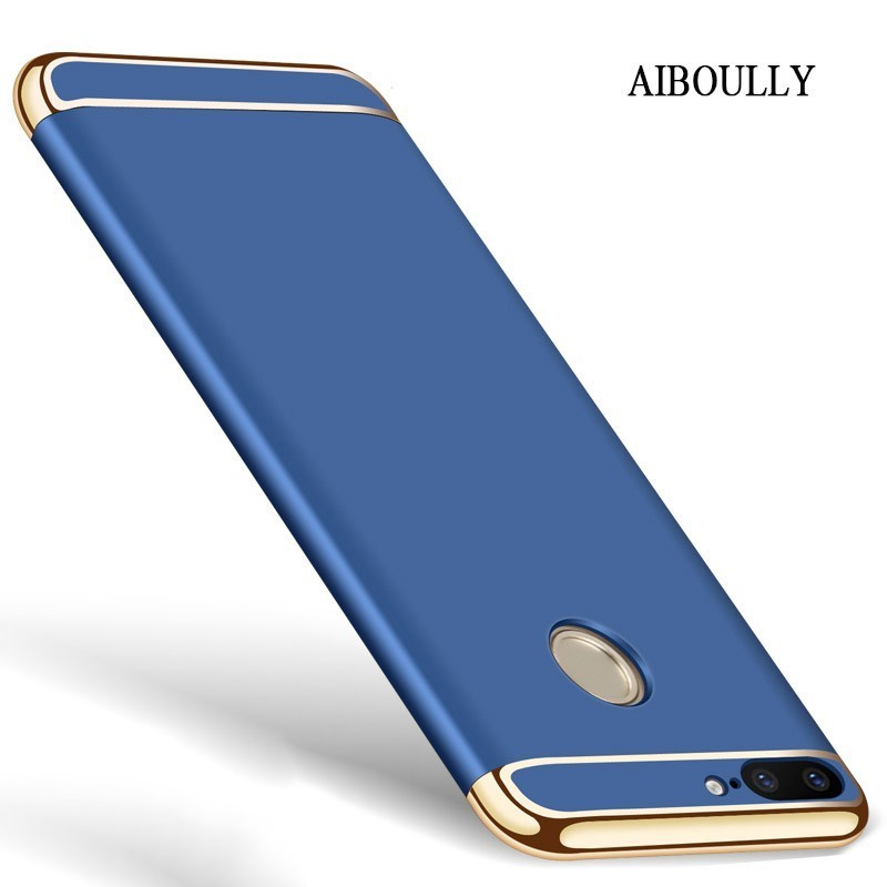 buy popular 5b809 88776 US $3.49 30% OFF|3 in 1 Hybrid Phone Cases For Huawei Honor 9 lite / Honor9  Luxury Full Protective Hard Matte Plastic Cover On Honor 9lite Case-in ...