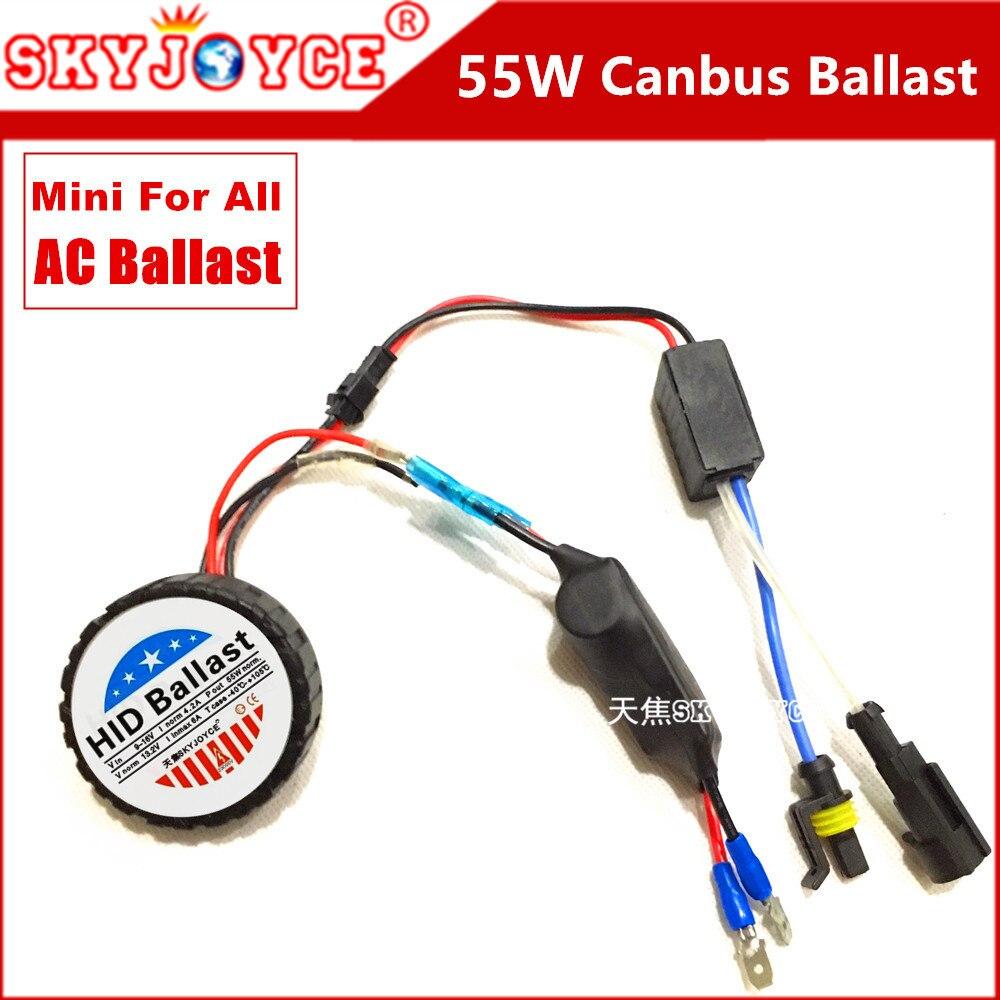 AC xenon H7 canbus ballast 55W xenon ballast 55W canbus hid ballast slim xenon hid xenon kit car headlight mini ballast 55W h11