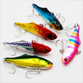Quality 9color 70mm 22g Shake VIB Fishing Wobblers Fake bait Hard Lure Swimbait Artificial Baits Fishing Tackle Fishing Lures