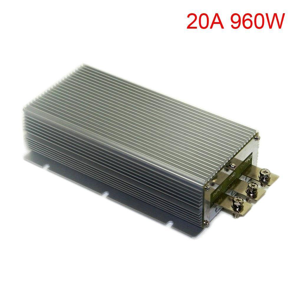 DC12V (10V -18V) Step Up DC48V 20A 960W Power Supply Converter Module Waterproof New waterproof regulator module step up dc 10v 12v 18v to dc 19v 15a 285w for solar power system voltage converter transformer