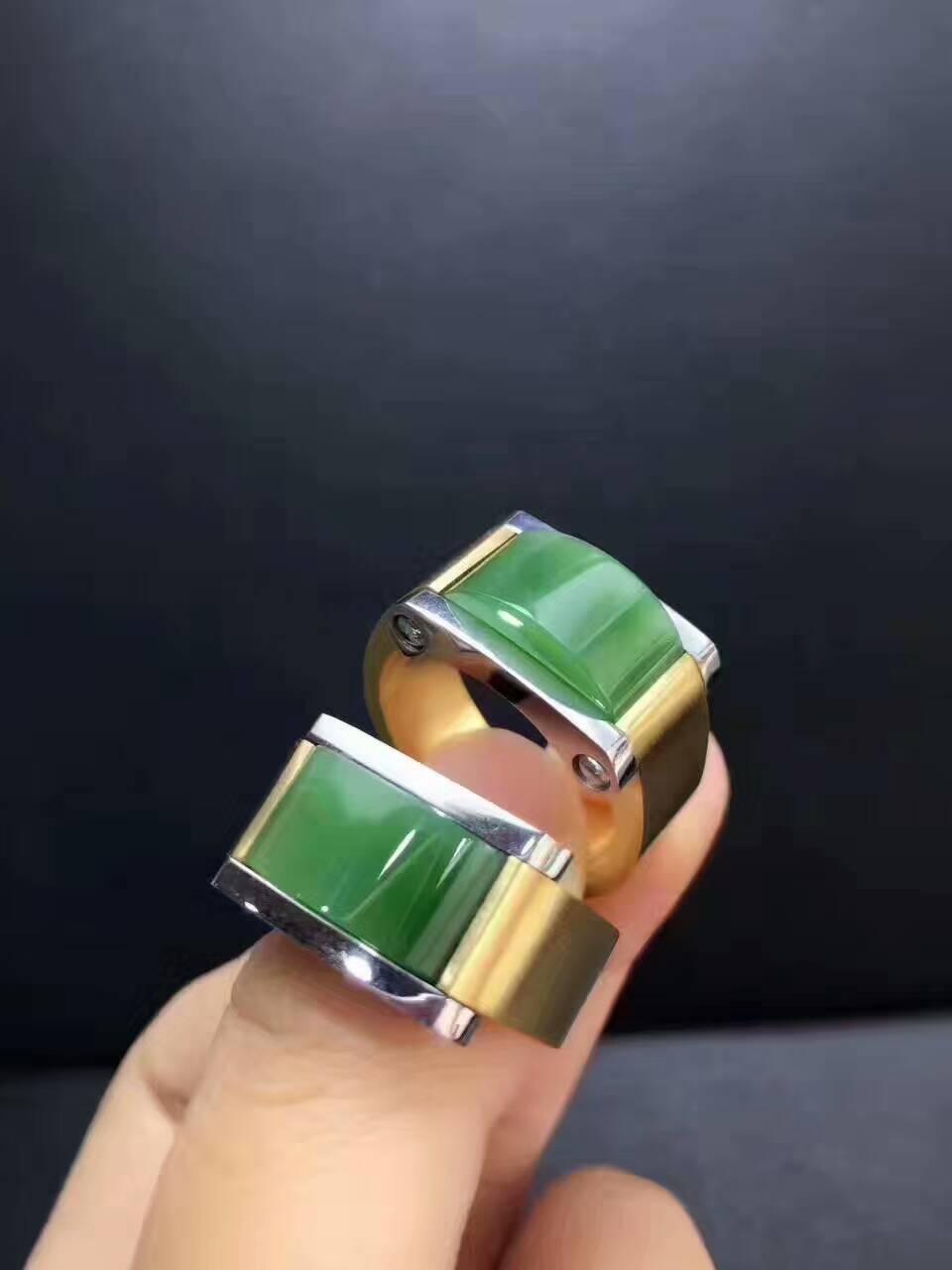 Природные bluestone мужской стальное кольцо, властная, материал цвет очень положительно,/1