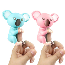 Buy Electronic Fingertip Koala Pack Finger Toys Interactive Baby Monkey Intelligence Decompression Smart Toy Like Finger Baby Pet directly from merchant!