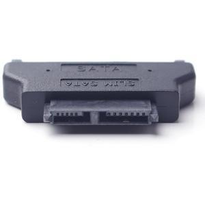 Image 3 - Adaptador sata, adaptador serial ata 7 + 15 22pin macho para slim 7 + 6 13 pinos adaptador fêmea para desktop e laptop hdd CD ROM disco rígido