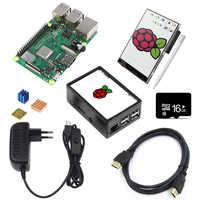 Carte de démonstration Oringnal RS Version Raspberry Pi 3 modèle B + carte Raspberry Pi 3 B Plus carte mère avec WiFi et Bluetooth