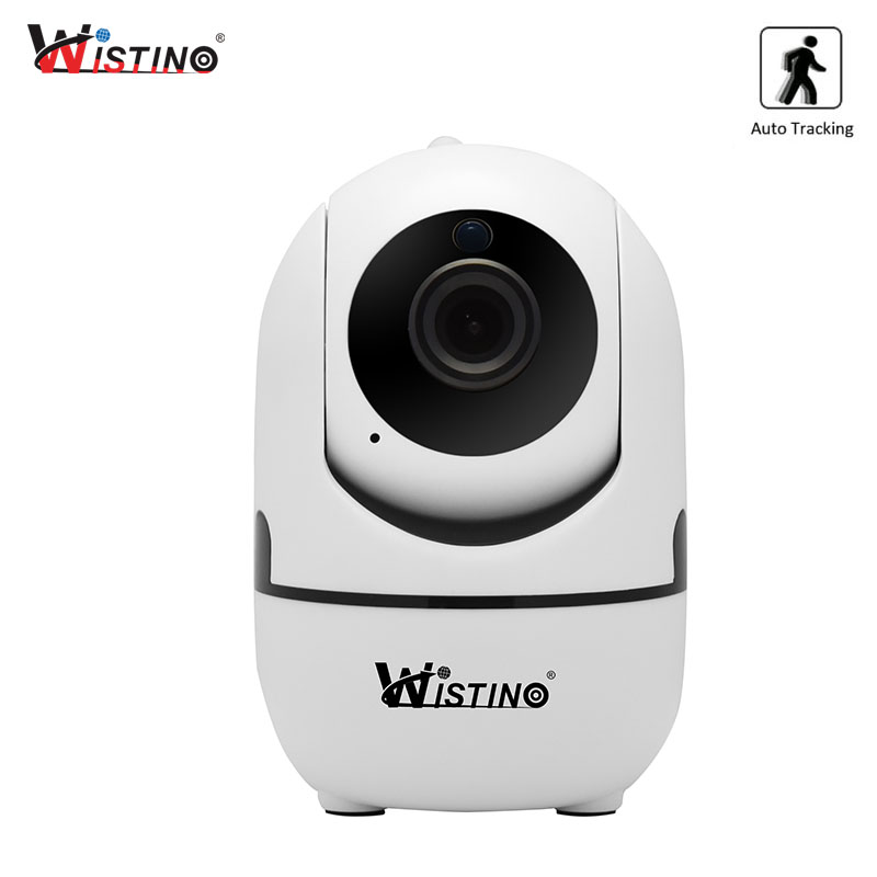 Wistino CCTV Wireless IP Camera Auto Track 720P Surveillance Security Home Camera Indoor Video Baby Monitor