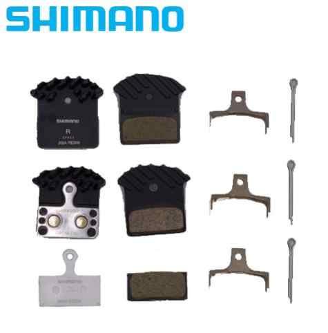 Shimano discos guarnición ice-Tech j02a Resin con refrigeración costillas 1 par suelto