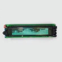 VFD מוסיקת FFT ספקטרום רמת אודיו קצב חיווי LED תצוגת VU מטר מסך OLED עבור 12V 24V רכב מגבר לוח