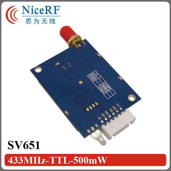 SV651-433MHz-TTL-500mW-2