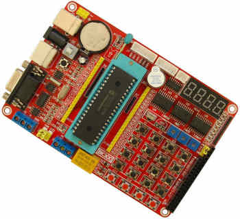 PIC18F4520 NEW board PIC NEW board learning board experimental board pic18f4520 development board pic development board learning board experimental board