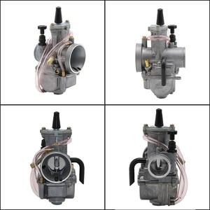 Image 3 - ZSDTRP Motorcycle For keihin koso pwk carburetor Carburador 21 24 26 28 30 32 34 mm with power jet fit on racing motor