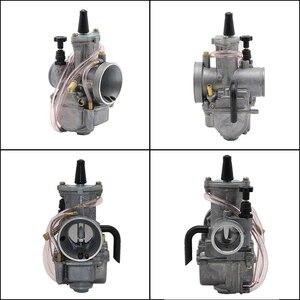 Image 3 - ZSDTRP دراجة نارية ل keihin koso pwk المكربن Carburador 21 24 26 28 30 32 34 مللي متر مع قوة جيت صالح على سباق السيارات