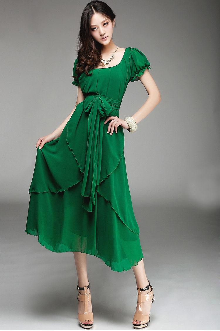 Chiffon dress fashion