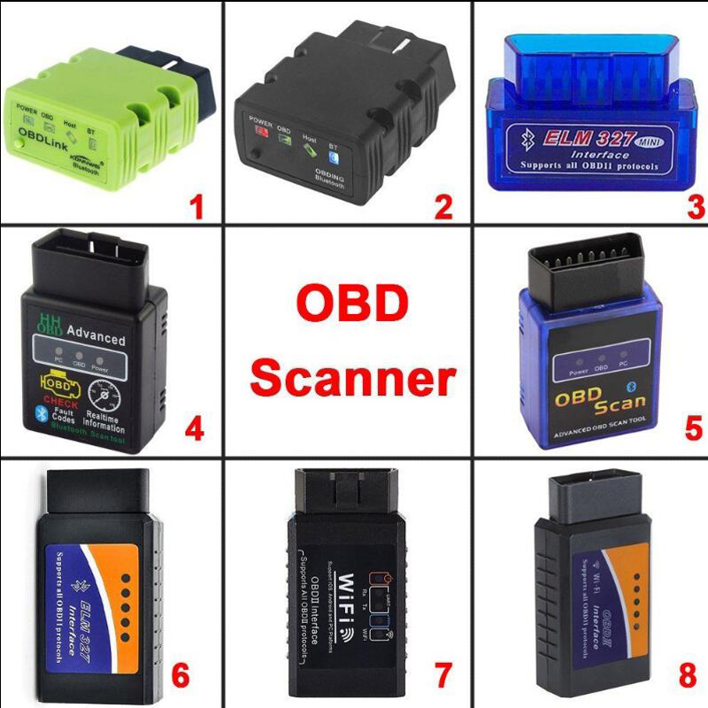 New ELM327 OBD2 CAN-BUS OBDII Bluetooth Car Auto Diagnostic Interface Scanner