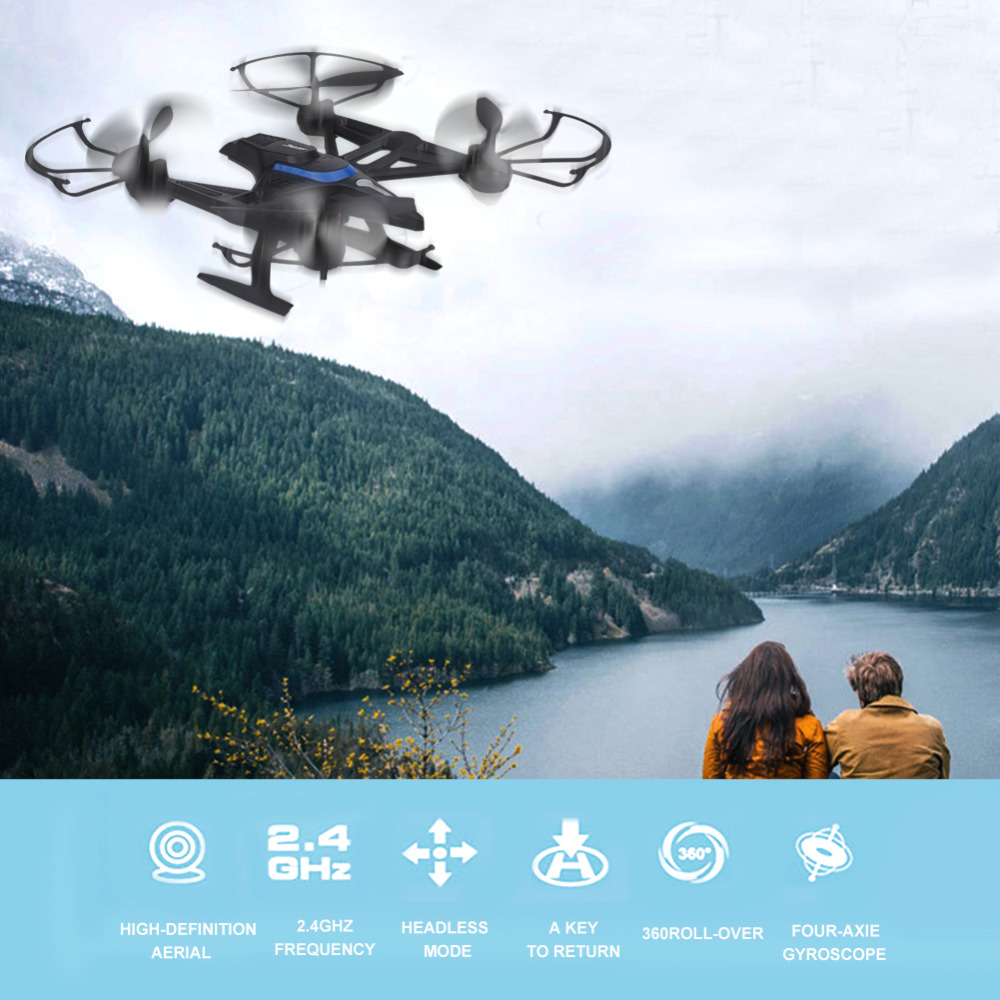 JJRC H50WH RC Wifi FPV Drone Quadcopter Altitude Hold Headless Mode Remote Control Helicopter Toy with 720P HD Camera jjr c jjrc h26wh wifi fpv rc drones with 2 0mp hd camera altitude hold headless one key return quadcopter rtf vs h502e x5c h11wh