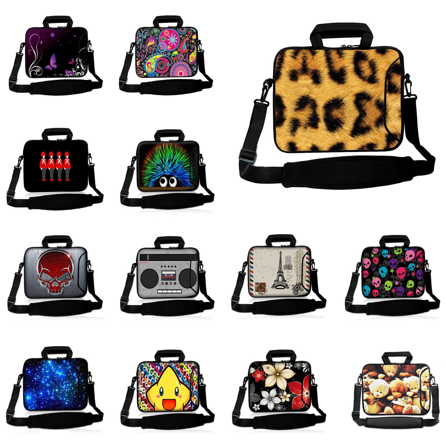 Notebook Women Bag Slim Briefcase Computer Shoulder Messenger Bag 15.6 Cheap Laptop Neoprene Bags 15 15.4 Handbag For Macbook