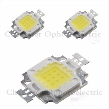 10W Warm White 3000K Cold White 6000K 10000K 20000K 30000K 35mil 45mil Square High Power LED Light chip 1000mA 10-13V 100pcs