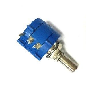 Image 3 - Freies verschiffen 10 stücke 3590S 2 103L Variable Widerstand Potentiometer 10 karat ohm Rotary Wirewound Precision Potentiometer 10 Schalten