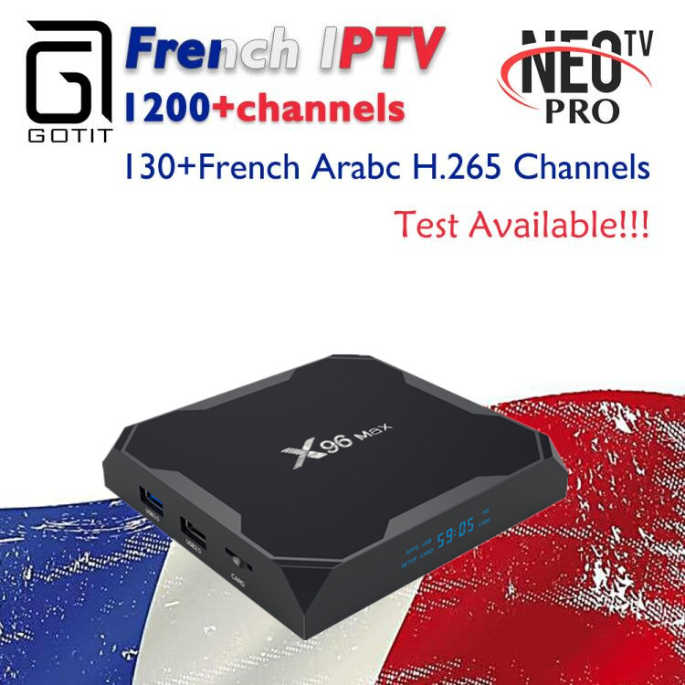 GOTiT French X96 Max Android 8 1 TV Box 32G 64G Amlogic S905X2 Dual WIFI 1100