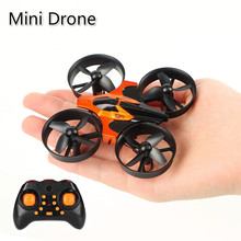все цены на RC Mini Drone Remote Control Helicopter Intelligent Fixed Height racing drone  2.4G 6 Axis Gyro Micro with Headless Mode gifts онлайн