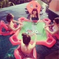 Şişme Oyuncaklar Yetişkin Havuzu Piscina Yaz Montaj Içinde Yüzen Satır Binmek-On Yüzme Halka Yetişkin Su Parti Oyuncaklar Piscina