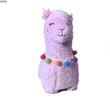 Stuffed Plush Toys for Children Lovely Cartoon Alpaca Doll Toy Soft Sheep Baby Kid and Girls Holiday Present Birthday Gift