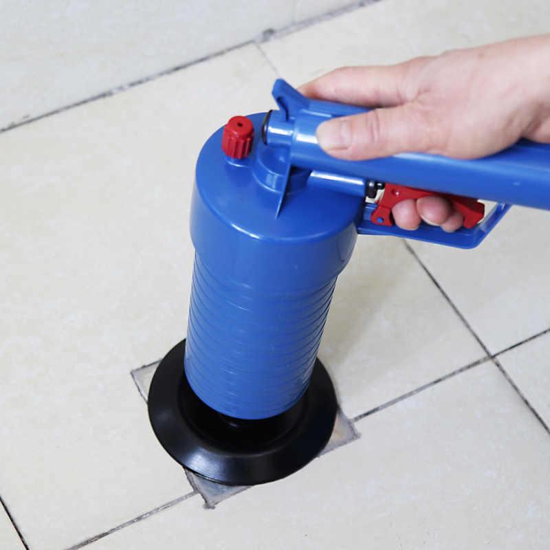 Nhà Cao Áp Suất Không Khí Thoát Blaster Bơm Tỳ Tản Ống Clog Tẩy Nhà Vệ Sinh Phòng Tắm Nhà Bếp Tặng Bộ Vệ Sinh
