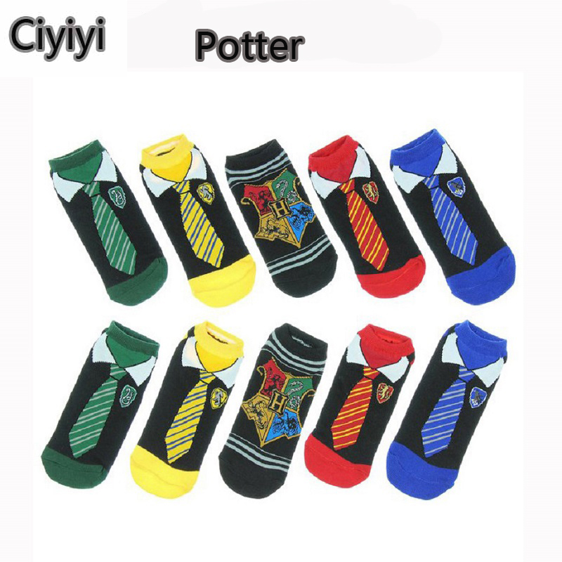 Harri Potter Hogwarts School Cosplay Plush Sock Toys Children Show Gift Brinquedos Halloween Harri Potter Magic Sock Toy