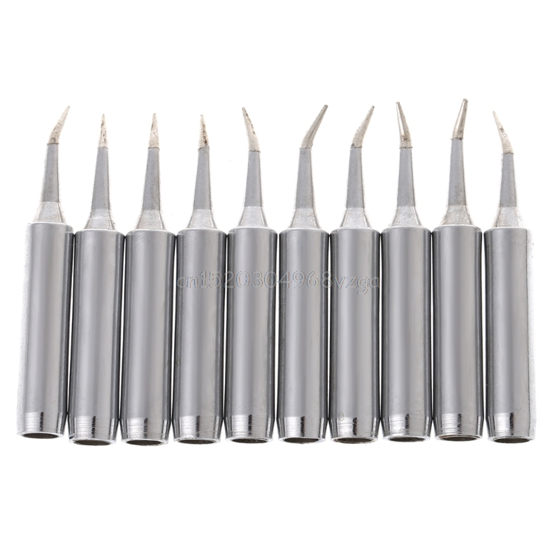 10 Pcs Solder Soldering Iron Tip 900M-T-SI Lead Free For Hakko Saike 936 852d+ 909D #H028# Drop Shipping