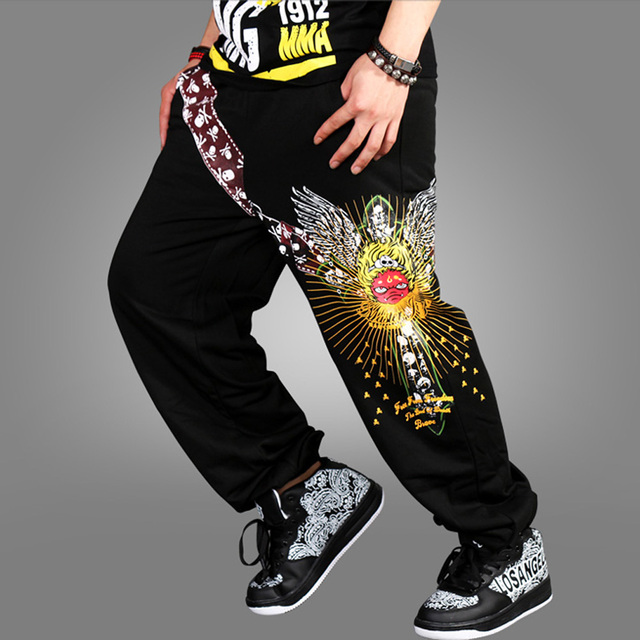 Brand Casual open air male male men Hip Hop Dance Harem Joggers Track Sweatpants Baggy Loose Pants Trousers Plus Size XXXL 01
