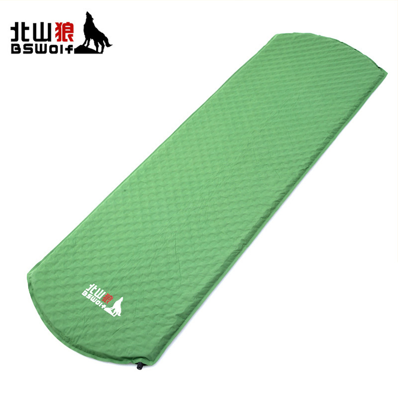 BSWolf single automatic inflatable pad outdoor camping tent tour family account honeycomb type mattress pad mattress