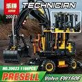 Lepin 20023 Genuino Serie Ultimate La Técnica Ew160e excavadora conjunto de Bloques de Construcción Ladrillos Juguetes Educativos Regalo Modelo 42053
