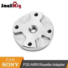 Roseta ARRI SmallRig Adaptador de Montagem Para Sony FS5 Aderência Com Quatro Tópicos M2.5 + Uma Rosca M6-1867