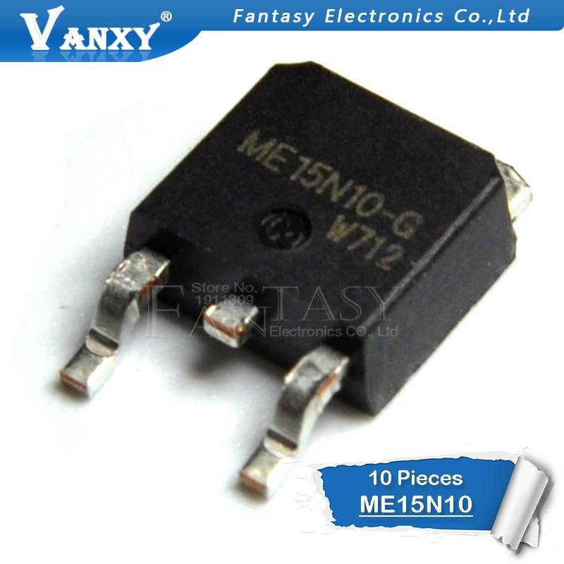 10PCS ME15N10-G TO-252 ME15N10 TO252 15N10 New MOS FET Transistor