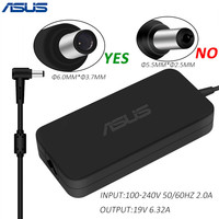 For Asus Laptop Adapter 19V 6.32A 120W DC 6.0*3.7mm AC Power Charger For Asus Notebook