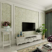 PAYSOTA Modern Living Room Bedroom Wallpaper Garden Non-woven 3D Stereo TV Background Wall Paper