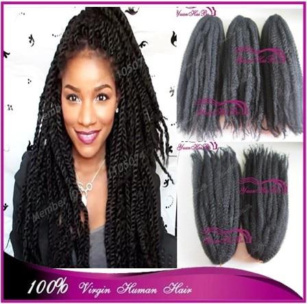 Stock Price 20 Black 100 Kanekalon Synthetic Hair Afro Twist Marley Braiding