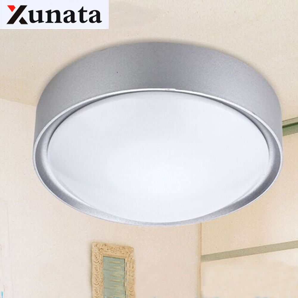 Ceiling Lights LED modern lighting bedroom living room balcony bathroom lamp lampshades diameter 25/33cm dustproof indoor lights ceiling lighting minimalist modern balcony study bedroom lighting led intelligent atmospheric living room dining room