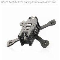 iFlight RACER iX3 V2 140mm FPV Racing Quadcopter Frame compatible 3030 propeller for FPV Racing Quadcopter drone