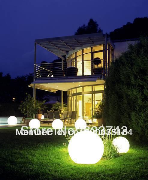 Волшебный RGB светодиодный шар наружный диаметр 25 см перезаряжаемый, светящийся шар, водонепроницаемый светильник для бассейна, меняющий цвет - 2