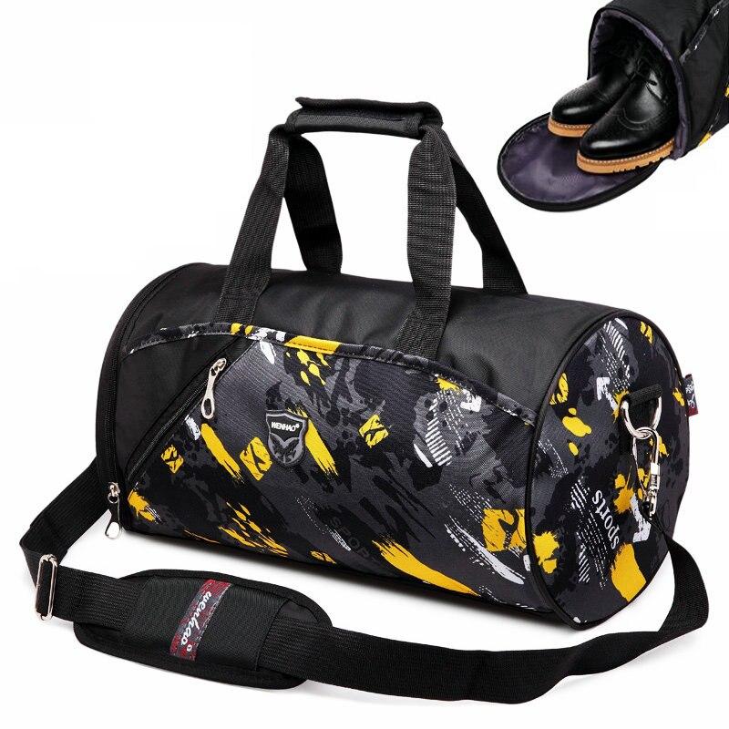 Marke new gym sport handtasche wasserdichte oxford fitness
