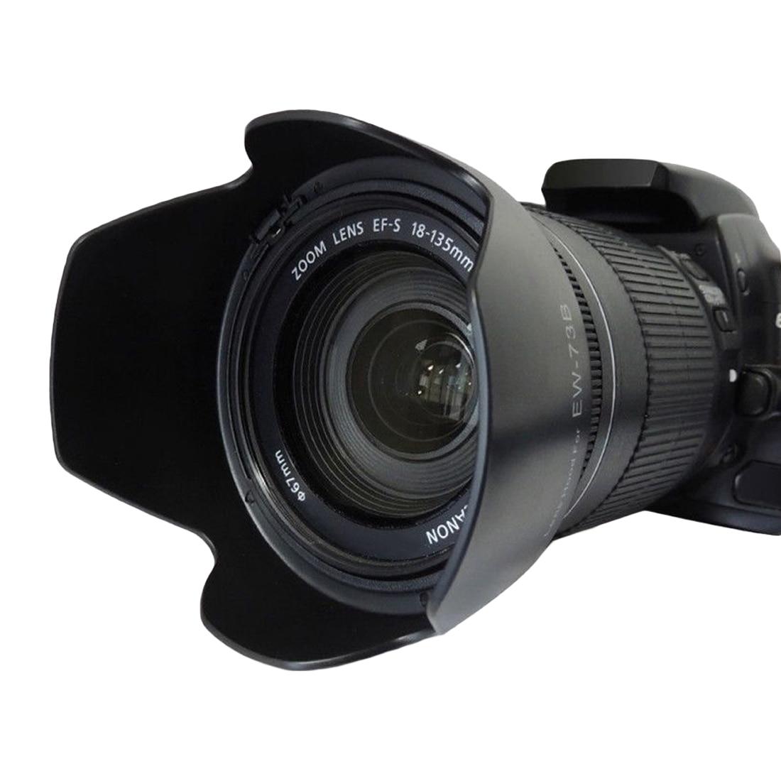 Parasol Universal 72mm negro para Canon EF-S 15-85mm 3,5-5,6 IS USM