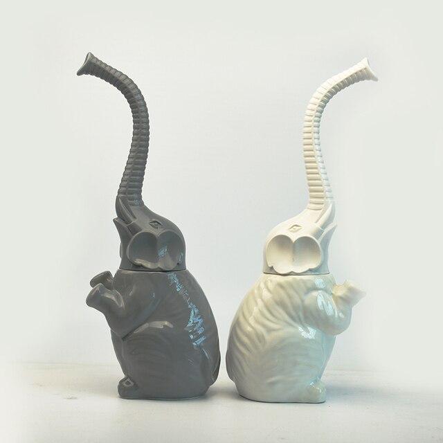 Bella Elephant Bagno in ceramica Wc set di pennelli bagno morbido a setole morbi