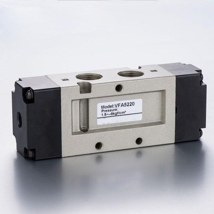 3/8 SMC Type VFA Series VFA5000 3 Position 5 port air control valve Pneumatic Air valve