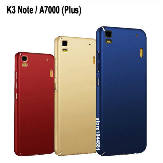 wholesale dealer 57fda 062a0 US $1.39 30% OFF|Full Protective Case For lenova Lenovo K3 Note Case  Frosted PC case For Lenovo A7000 Case Fashion Hard Pc Lenovo A7000 Plus  Case-in ...