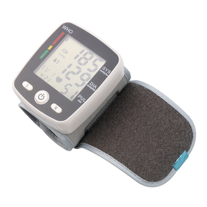 Image 5 - Rechargeable Health Care Germany Chip Automatic Wrist Digital Blood Pressure Monitor Tonometer Meter  Measuring And Pulse Rate