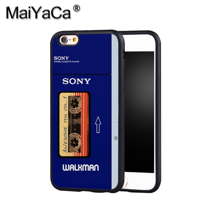 MaiYaCa Awesome Mix Vol 1 Walkman Phone Case Cover For Iphone X 8 6 6S Plus 7 7 Plus 5 5S 5C 4S SE Mobie Soft Rubber Case ...