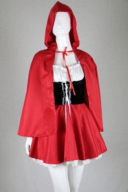 halloween costumes for women sexy cosplay little red riding hood fantasy game uniforms fancy dress outfit S-6XL,free shipping
