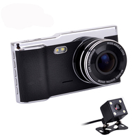 Fumalon 4.0 Car DVR Camera Novatek 96650 Dual Lens Rear view Support Front Full HD 1080P car dvrs dash cam