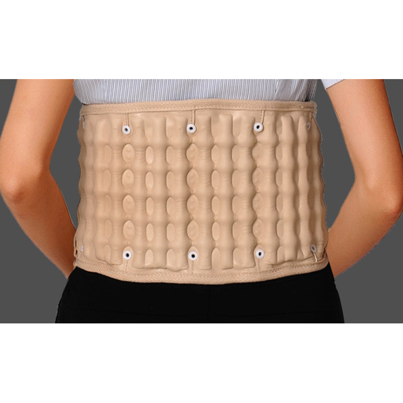 2Colo Spinal Air Traction Physio Decompression Back Massage Belt Back Pain Reliver Lower Lumbar Supports and Brace posture spine