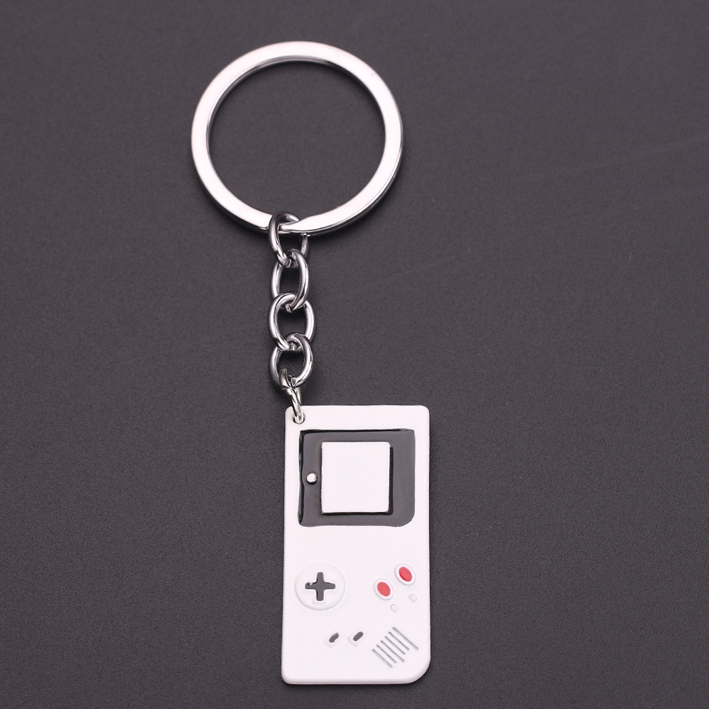 Game controller key chain geeky boyfriend perfect gift idea